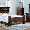 Tempat Tidur Minimalis Classic Natural Great Quality Jepara MF351